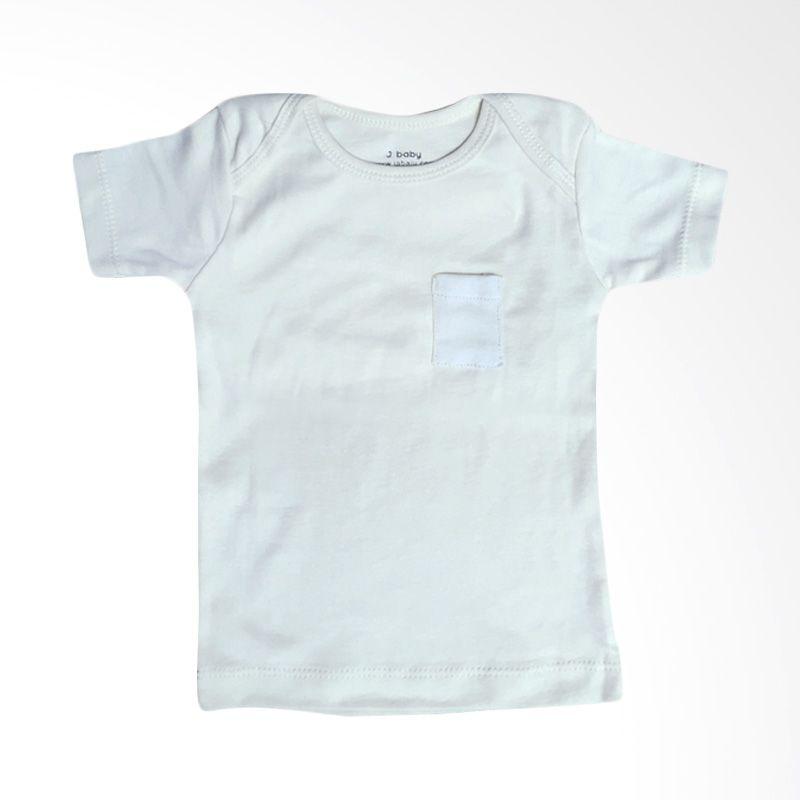 J Baby Polos T-Shirt 7 Abu-abu Atasan Bayi