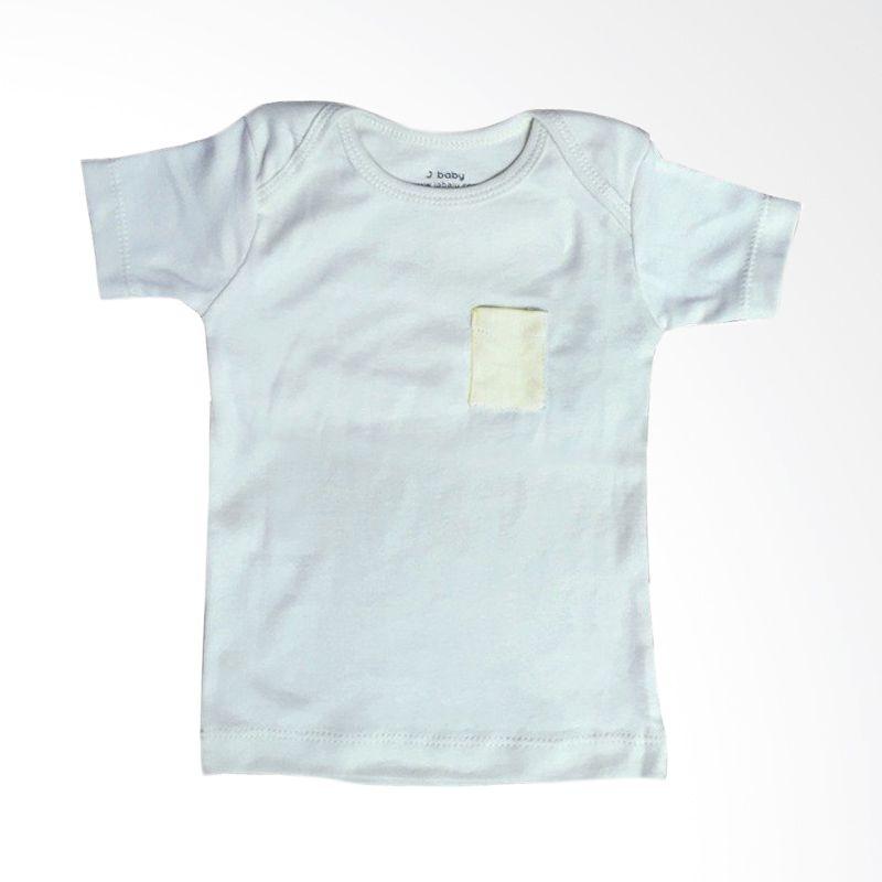 J Baby Polos T-Shirt 9 Abu-abu Atasan Bayi