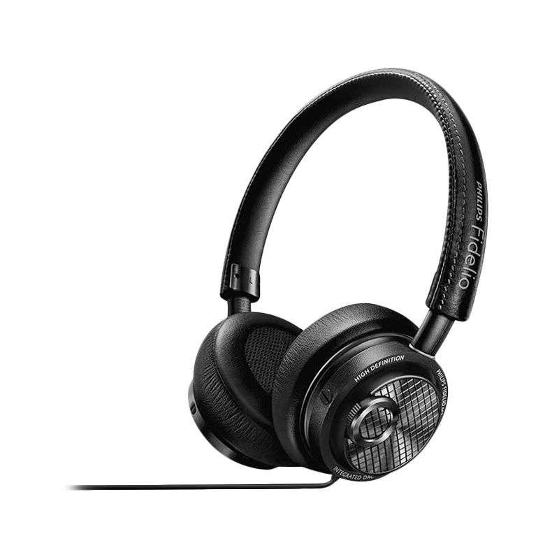 Philips M2LPortable Black Headphone with Lightning Connector