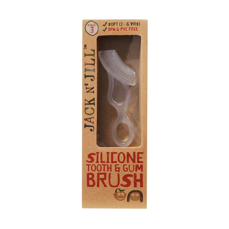 Jack N Jill Silicone Tooth And Gum Brush