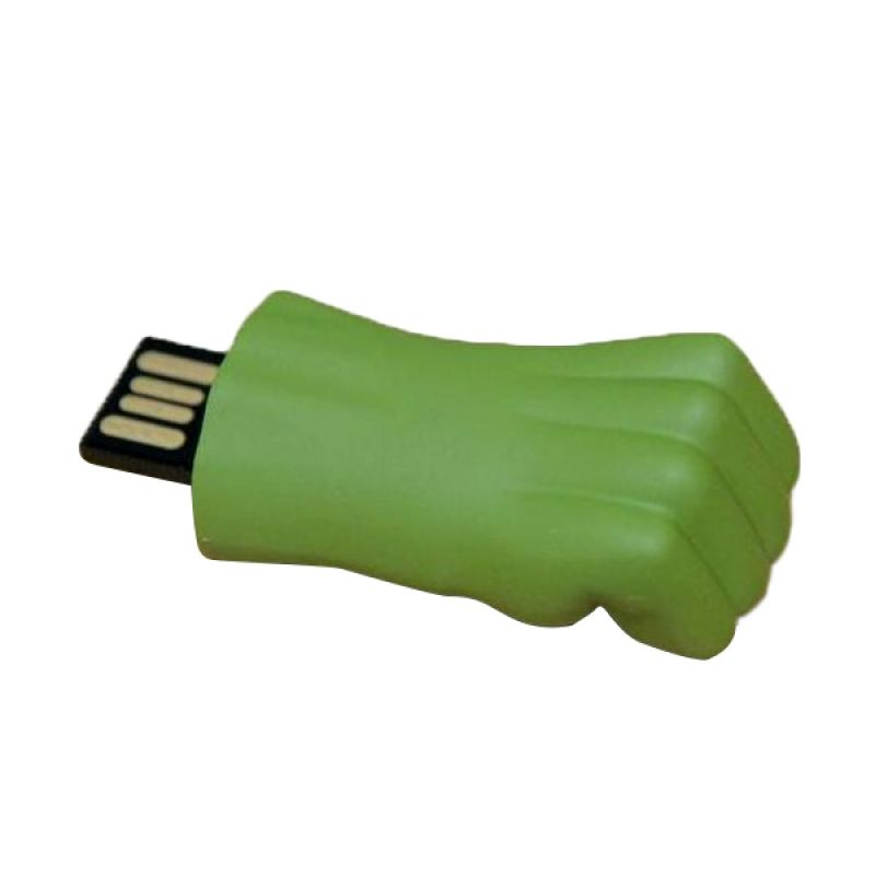 PWOW 8GB USB Flash Drive, the Avengers Fist of Hulk Metal USB 2.0 Memory Stick