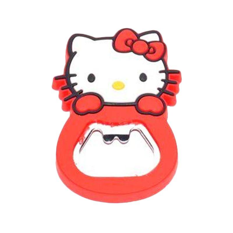 Jack Karakter Hello Kitty Merah Pembuka Botol