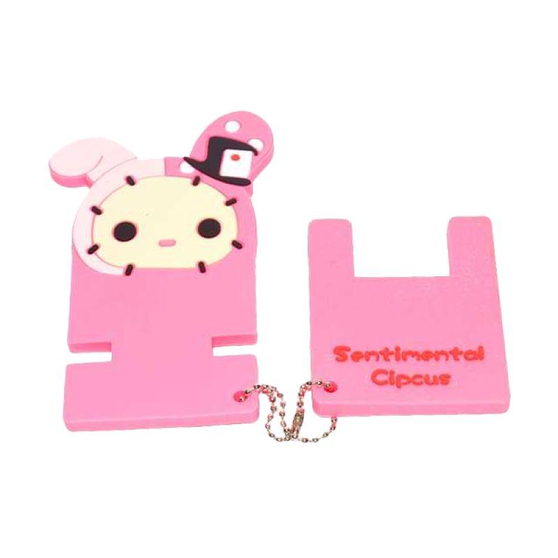 Jack Karakter Kelinci Pink Penyangga Handphone