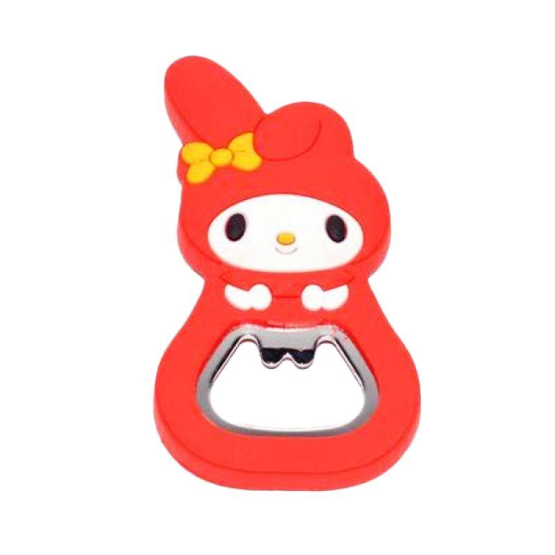 Jack Karakter Melody Merah Pembuka Botol