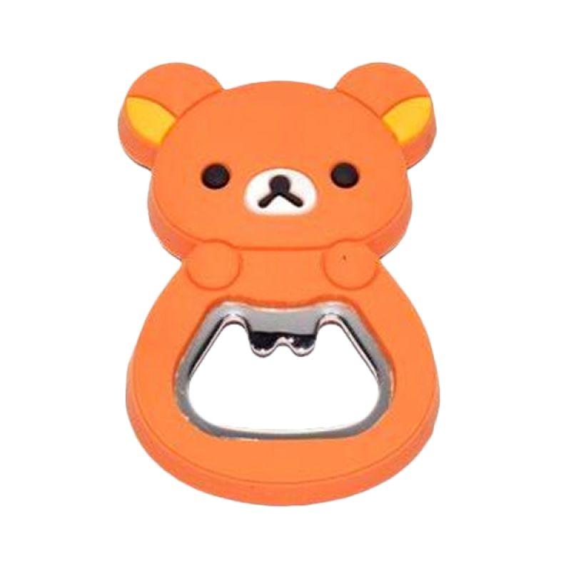 Jack Karakter Rilakuma Orange Pembuka Botol