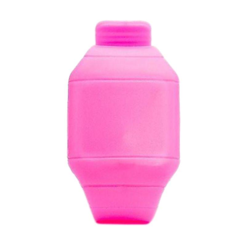 Jack LED Silikon Pink Jam Tangan Pria