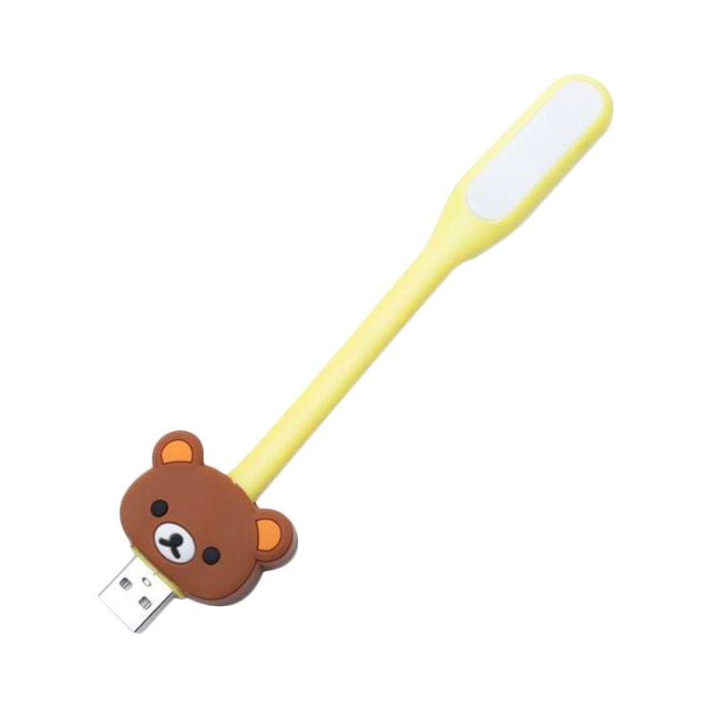Jack LED Karakter Rilakuma Kuning Lampu Portable