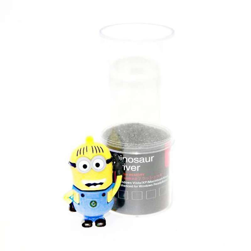 Jack Minion Biru Flashdisk [8 GB]