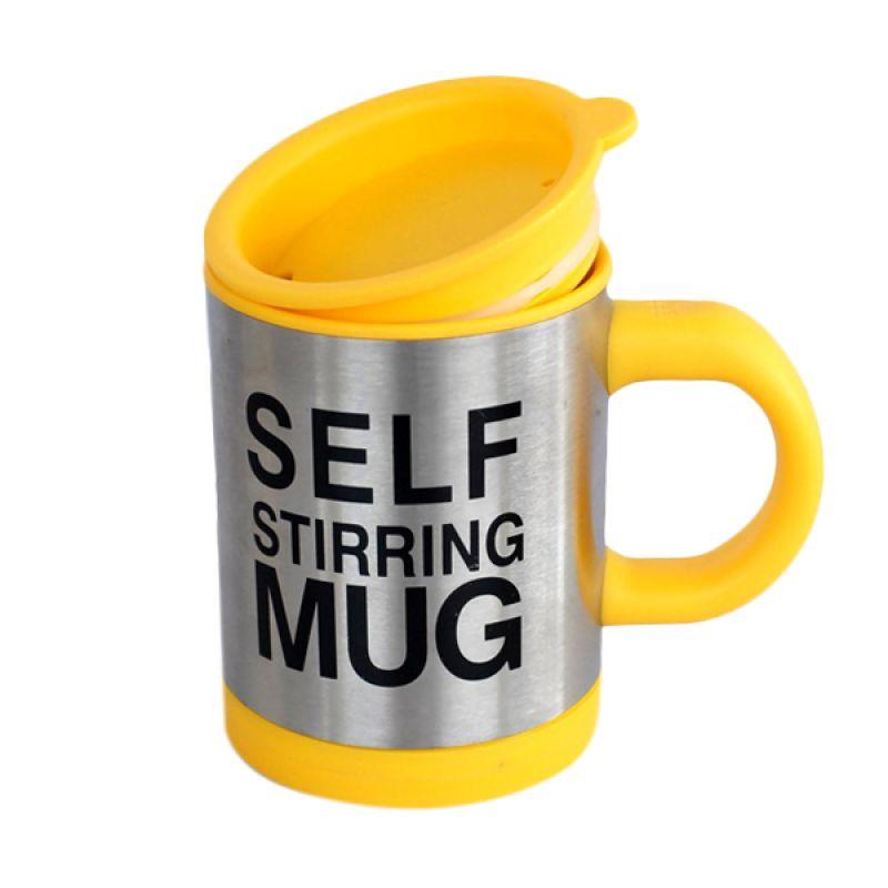 Jack Self Stiring Kuning Mug Gelas