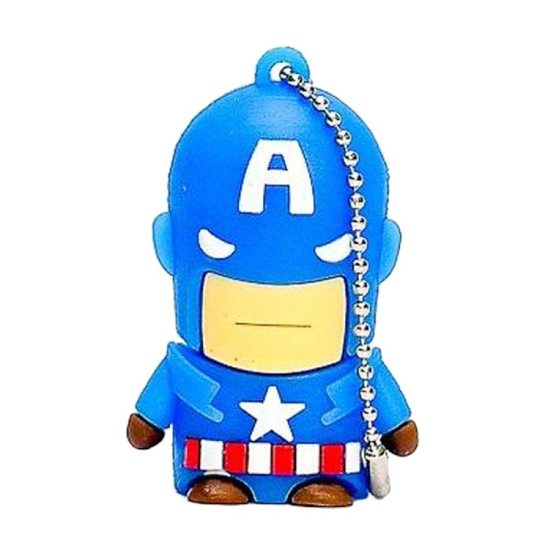 Jack Superhero Captain America Flashdisk [8 GB]