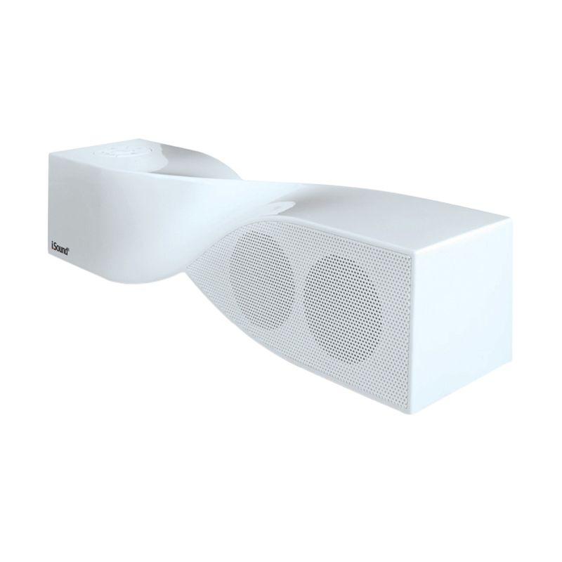 harga iSound Twist Putih Bluetooth Speaker Portabel Blibli.com
