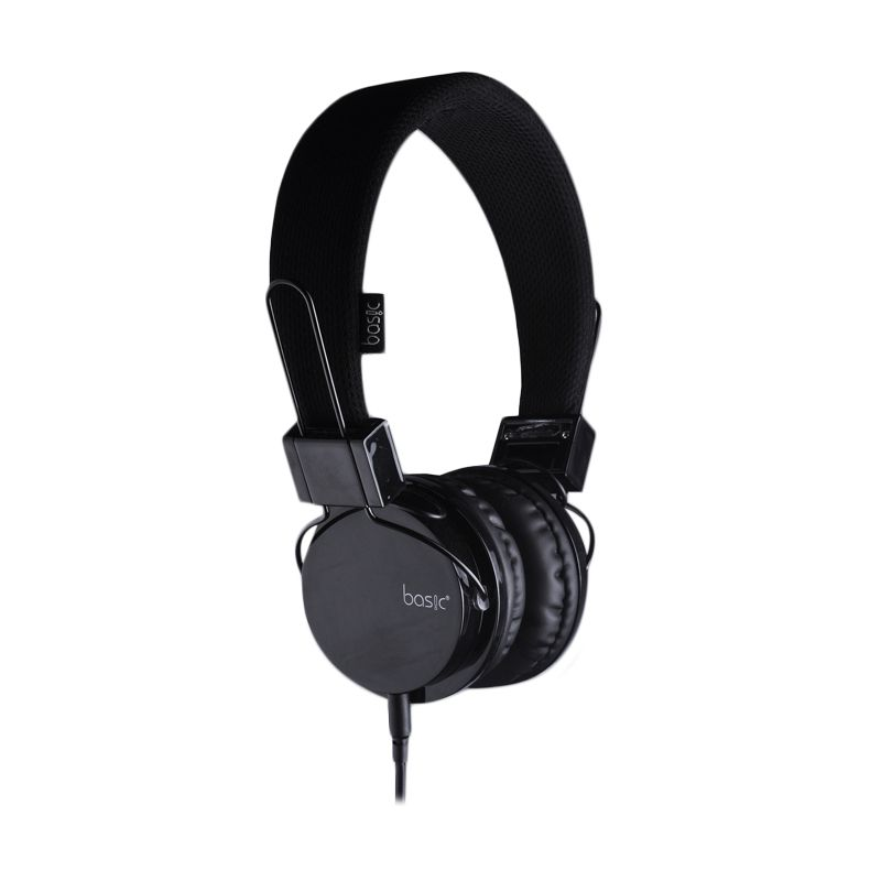 Basic HP-22 Hitam Headset