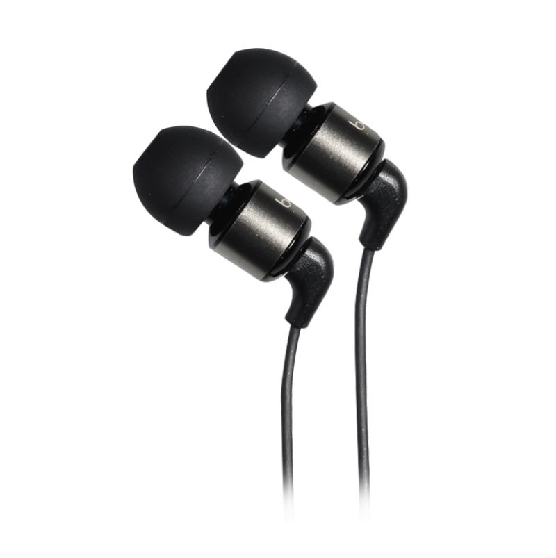 Basic IE-81 HD Hitam Earphone