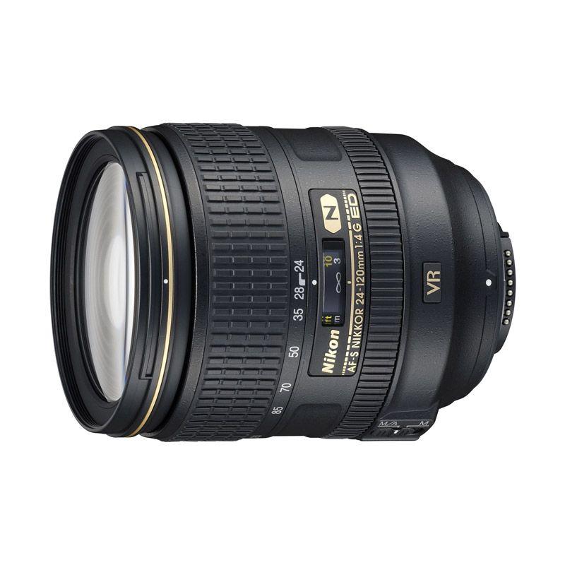 Nikon AF-S 24-120 mm f/4G ED VR Lensa Kamera