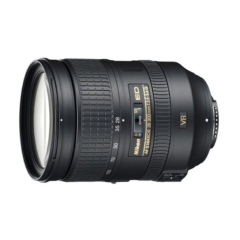 Nikon AF-S 28-300mm f/3.5-5.6 ED VR Lensa Kamera