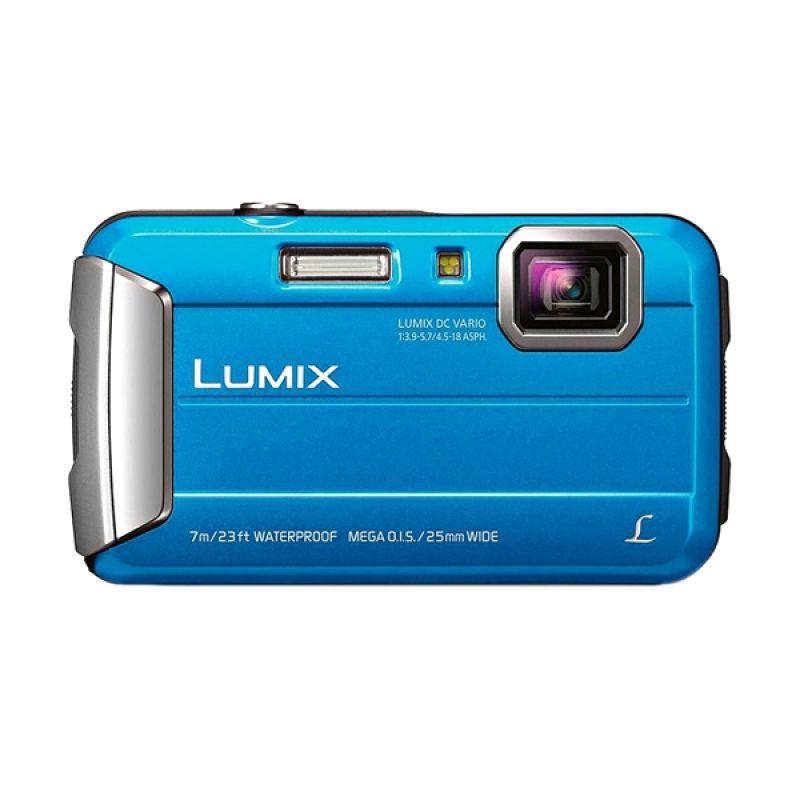 Panasonic Lumix DMC-FT25 Blue Kamera Pocket
