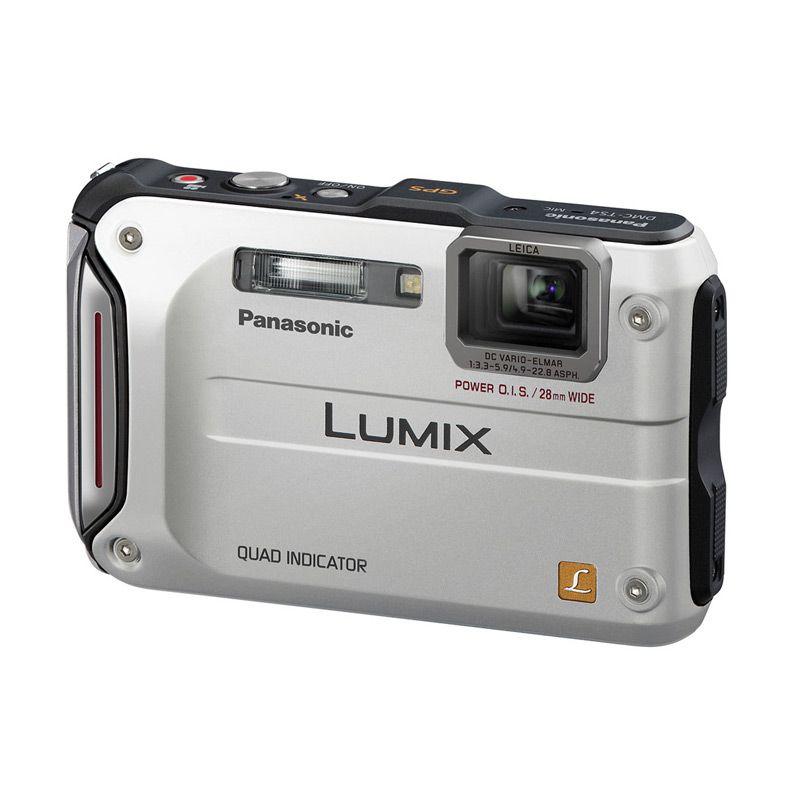 Panasonic Lumix DMC FT4 Silver Kamera Pocket [12 MP]
