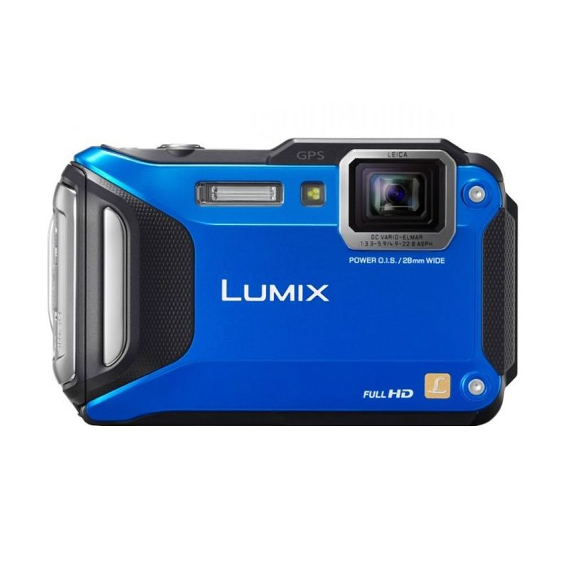 Panasonic Lumix DMC-FT5 Blue Kamera Pocket
