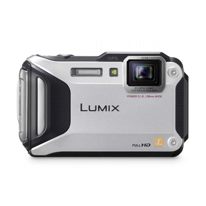 Panasonic Lumix DMC FT5 Silver Kamera Pocket