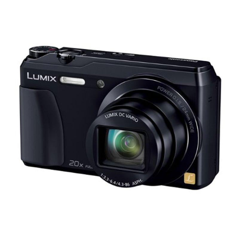 Panasonic Lumix DMC-TZ55 Hitam Kamera Pocket