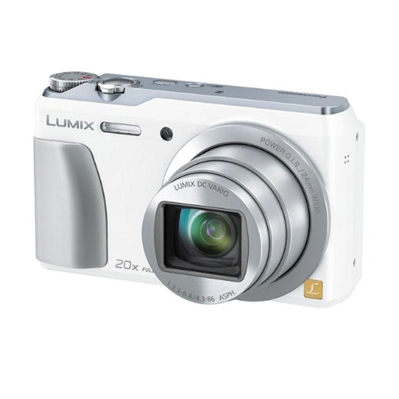 Panasonic Lumix DMC-TZ55 Putih Kamera Pocket