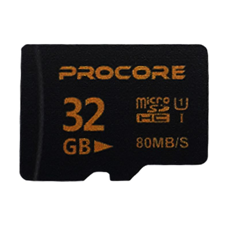Procore Micro SDHC Memory Card [16 GB/80 Mbps]