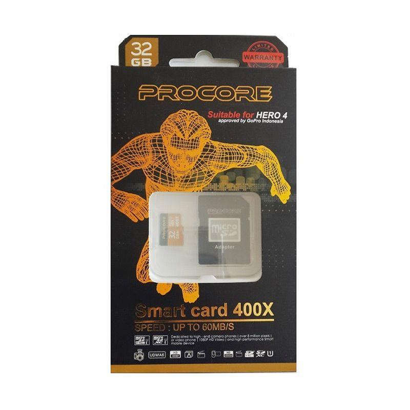 Procore MicroSD 400x Memory Card [60 Mbps/32 GB]