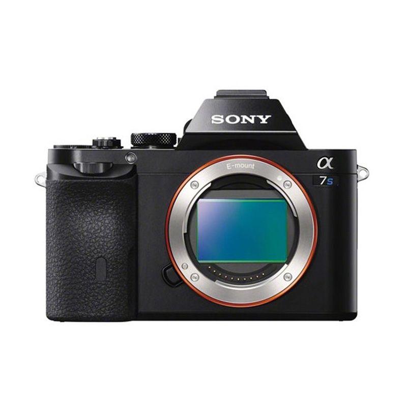 Sony Alpha ILCE 7S Hitam Kamera Mirrorless [12.2 MP/Body Only]