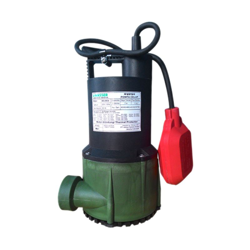 Wasser WD-200 EA Pompa Celup