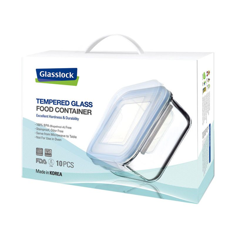 Glasslock Foodware GL26 Set Kotak Makan [5 Pcs]