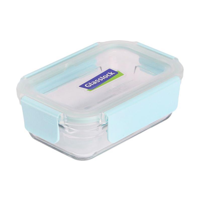 Glasslock Pure Cap Rectangular ORRT039P Kotak Makan [395 mL]