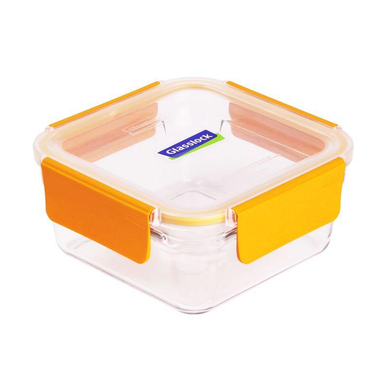 Glasslock Pure Cap Square ORST113P Kotak Makan [1130 mL]