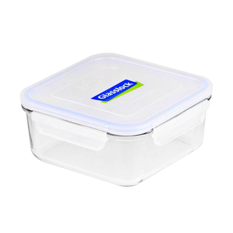 Glasslock Square RP534 Kotak Makan [1200 mL]