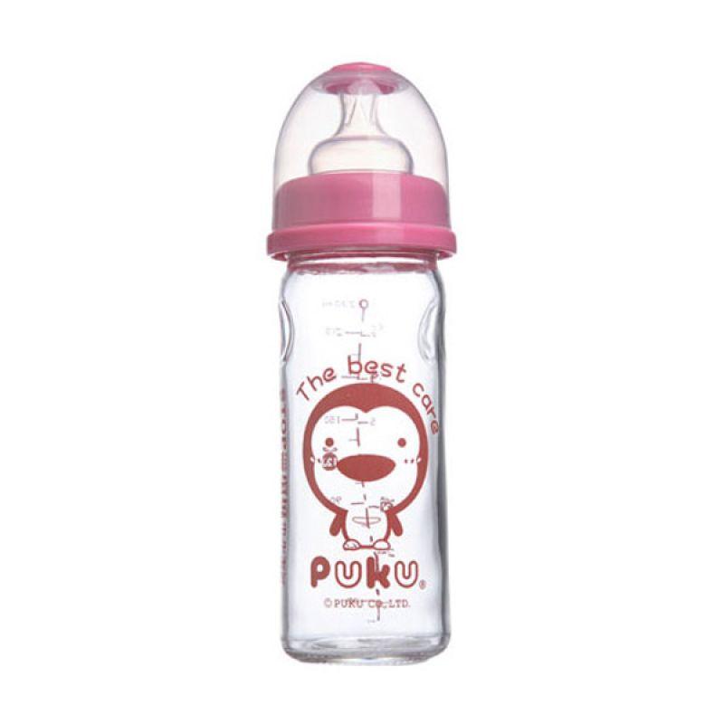 PUKU P10160 Pink Botol Susu [230 cc]