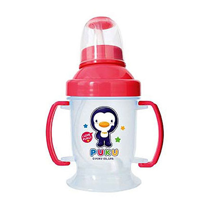 PUKU P14704 Pink Baby Training Cup [180 cc]