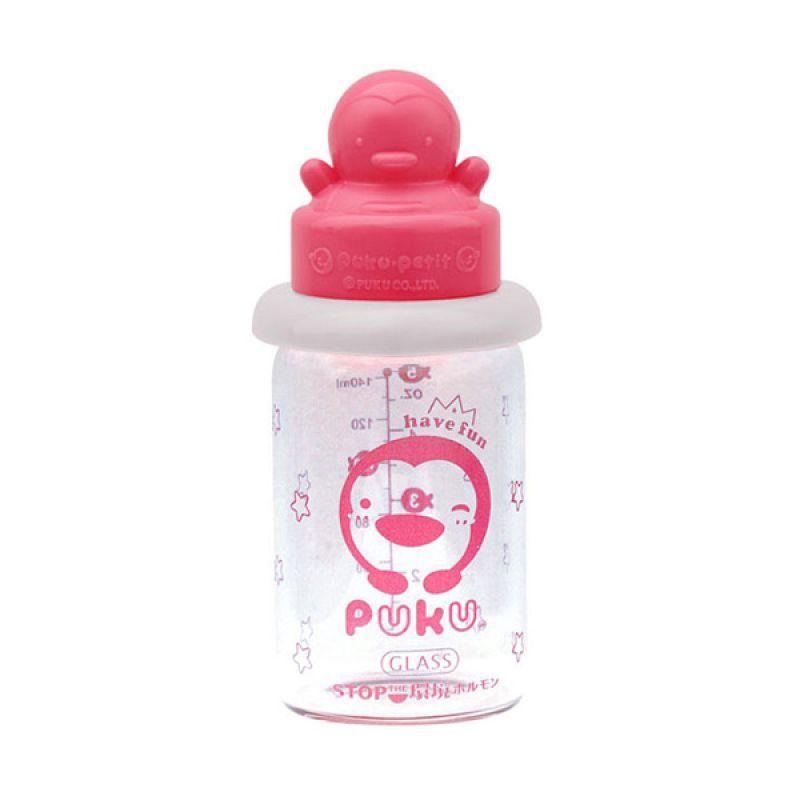 PUKU P10181 Pink Botol Susu [120 cc]