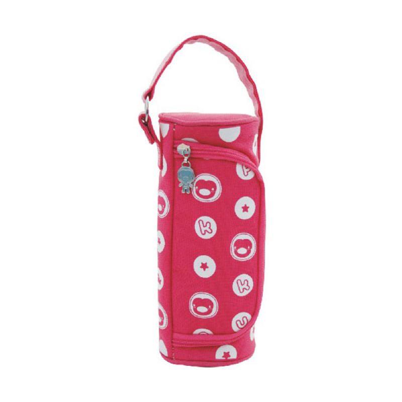 PUKU Zip Side P11407 Pink Bottle Warmer Penghangat Botol
