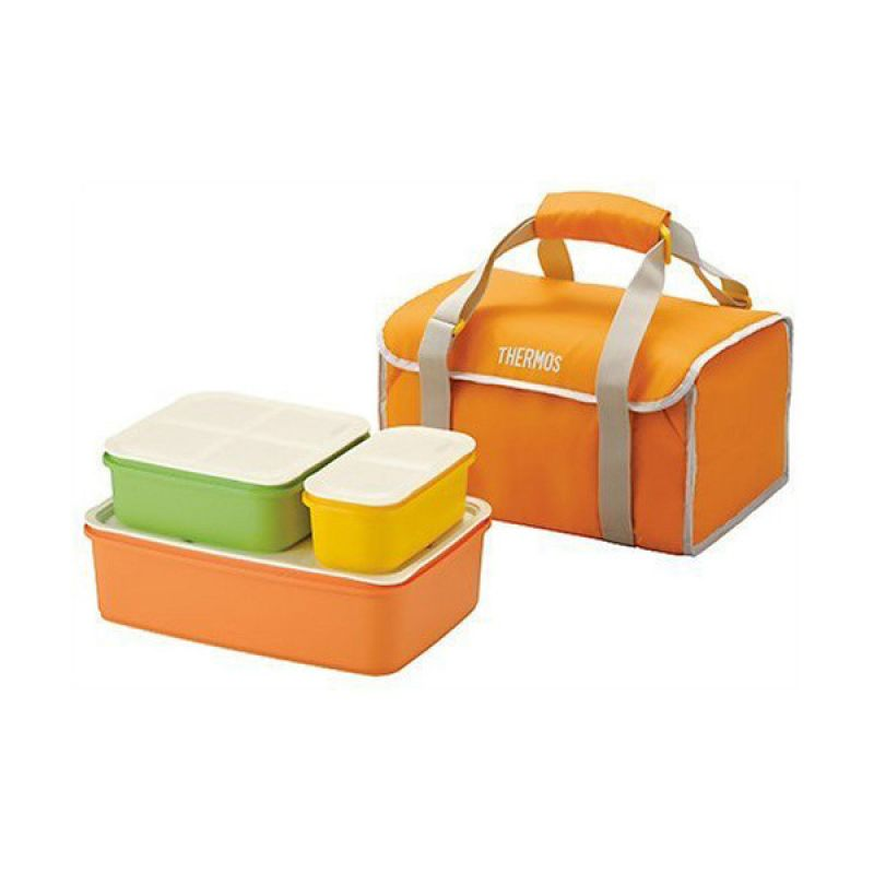 THERMOS Family Fresh DJF-4000 Lunch Box Set Tempat Makan