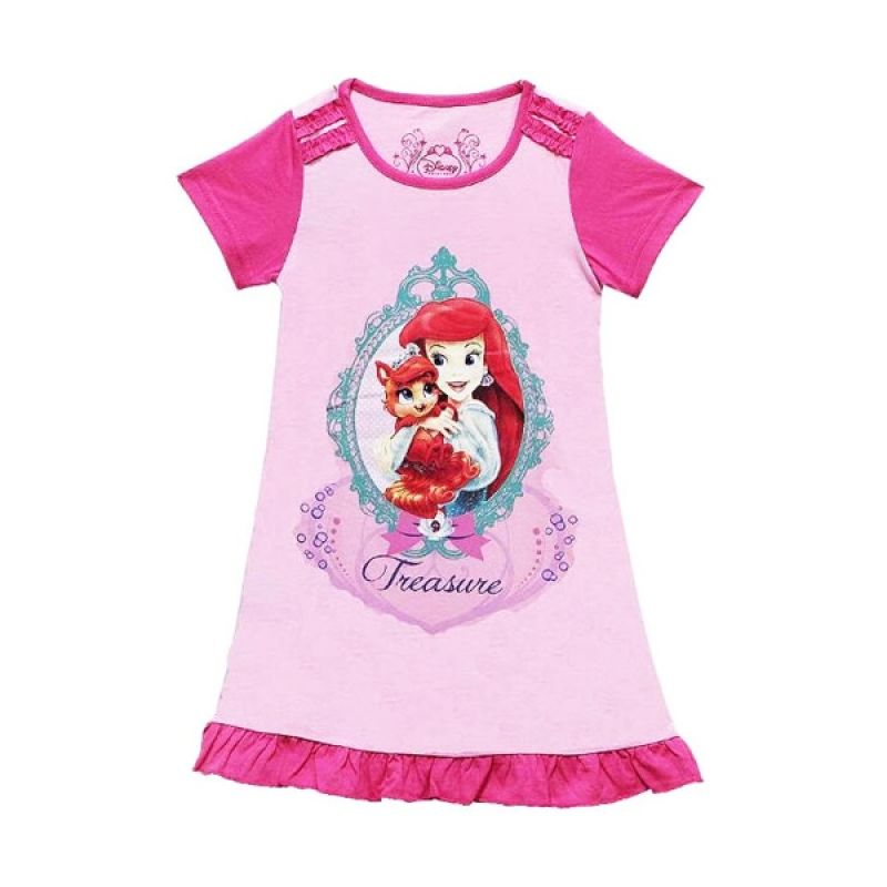 Disney Beauty & The Beast Pink Dress Anak Perempuan