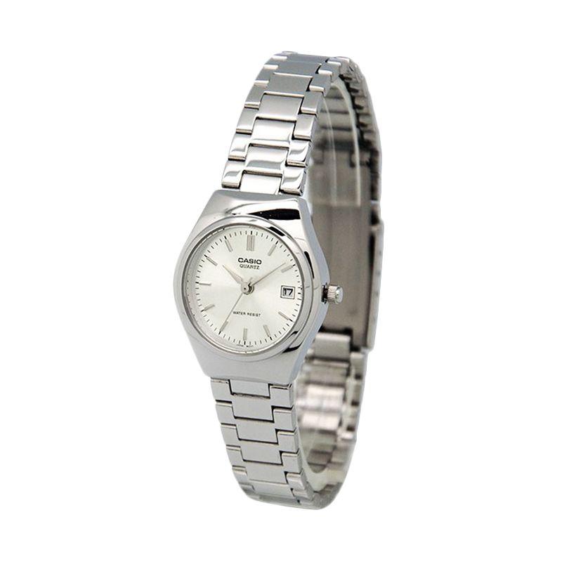 Casio Casual LTP-1170A-7A Silver Jam Tangan Wanita