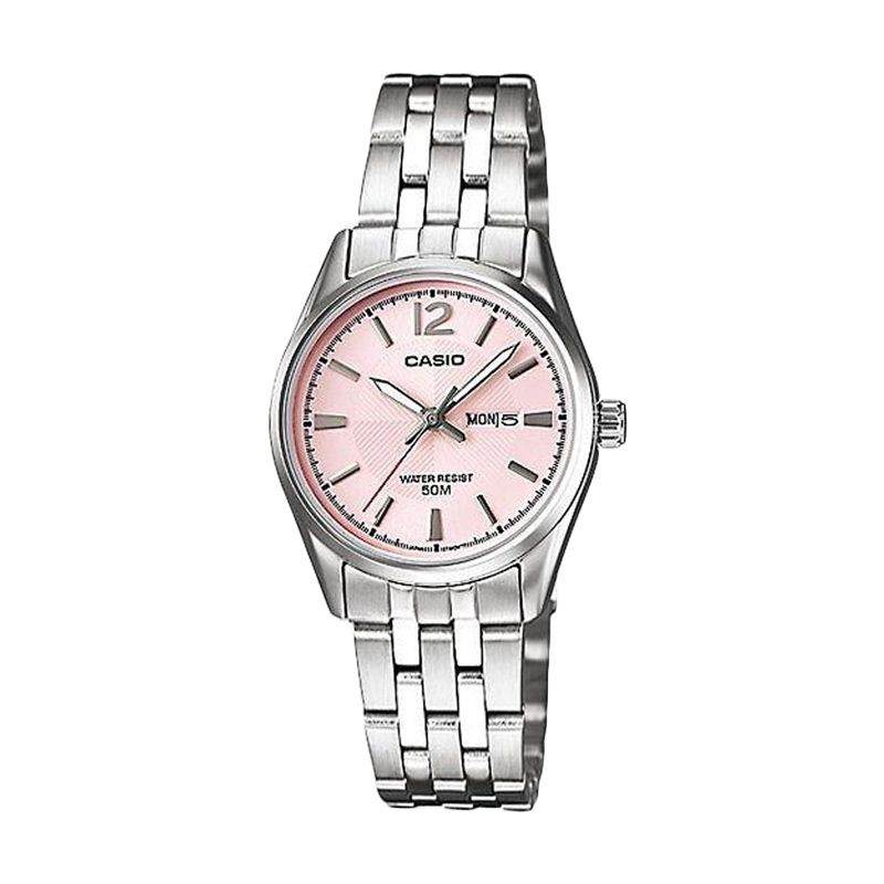 Casio Casual LTP-1335D-5A Pink Jam Tangan Pria
