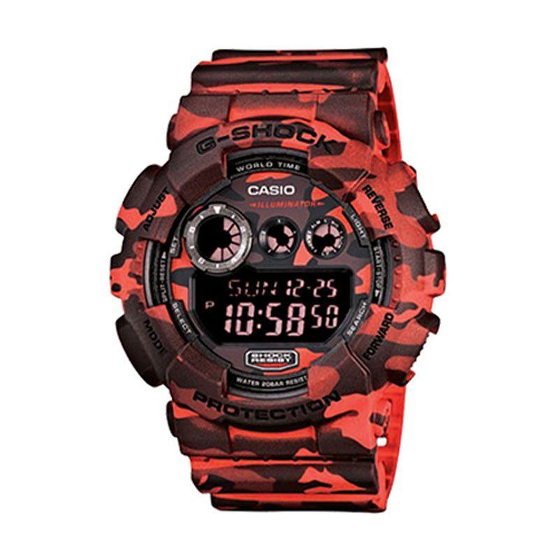 Casio G-Shock GD-120CM-4D Black Jam Tangan Pria Sport