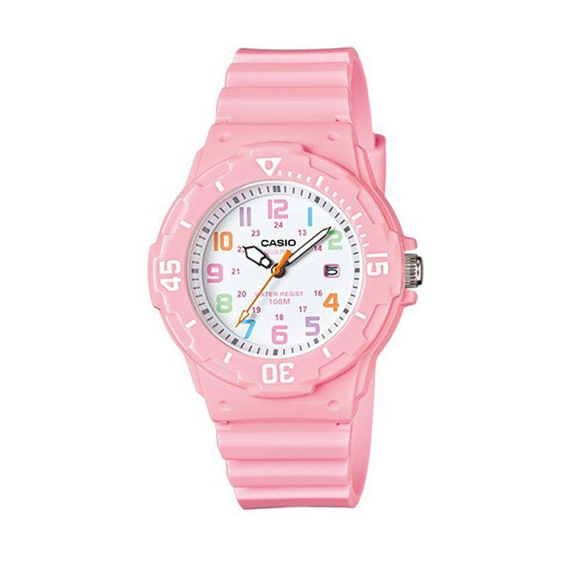 Casio LRW-200H-4B2 Casual Pink Jam Tangan Wanita