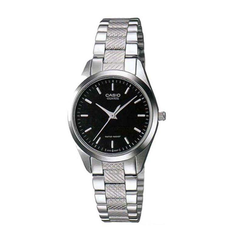 harga Casio LTP-1274D-1A Casual Black Jam Tangan Wanita Blibli.com
