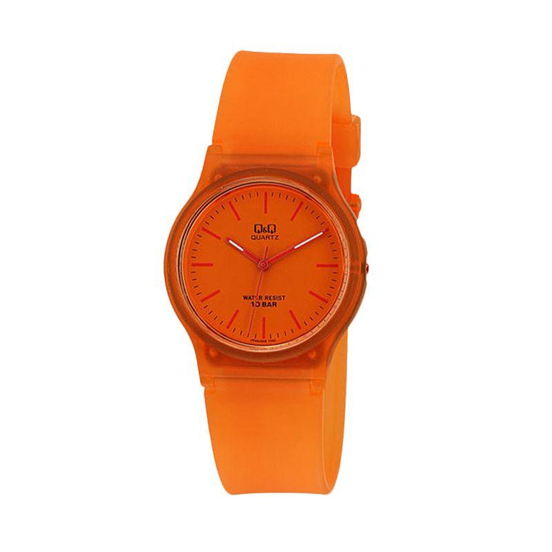 Q&Q Casual VP46J035Y Orange Jam Tangan Wanita