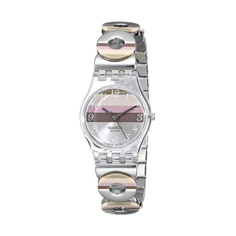 Swatch Casual LK258G Silver Jam Tangan Wanita