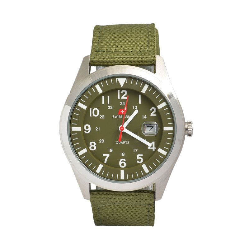 Swiss Army SA1881SGR Sporty Green Jam Tangan Pria