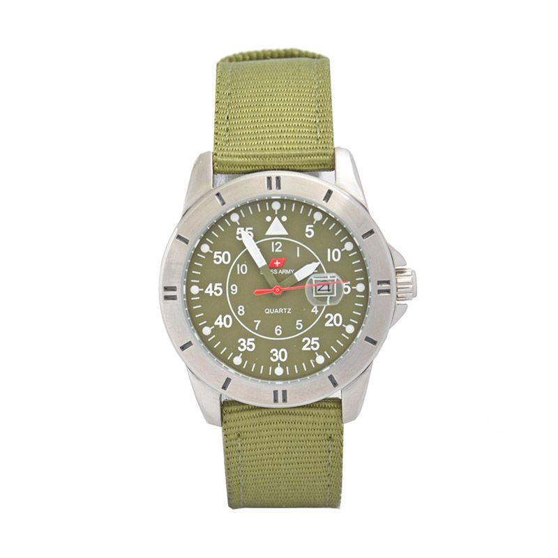 Swiss Army SA955LGR Sporty Green Jam Tangan Wanita