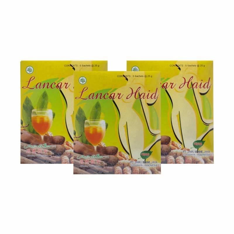 Jamu IBOE Lancar Haid 3 Pack