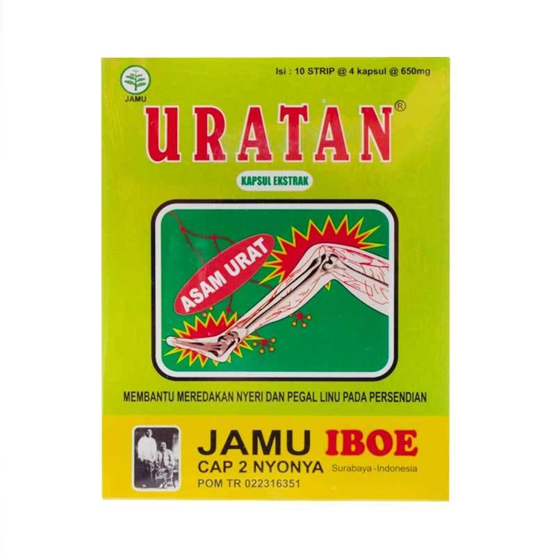 Jamu IBOE Uratan Strip (Kapsul)